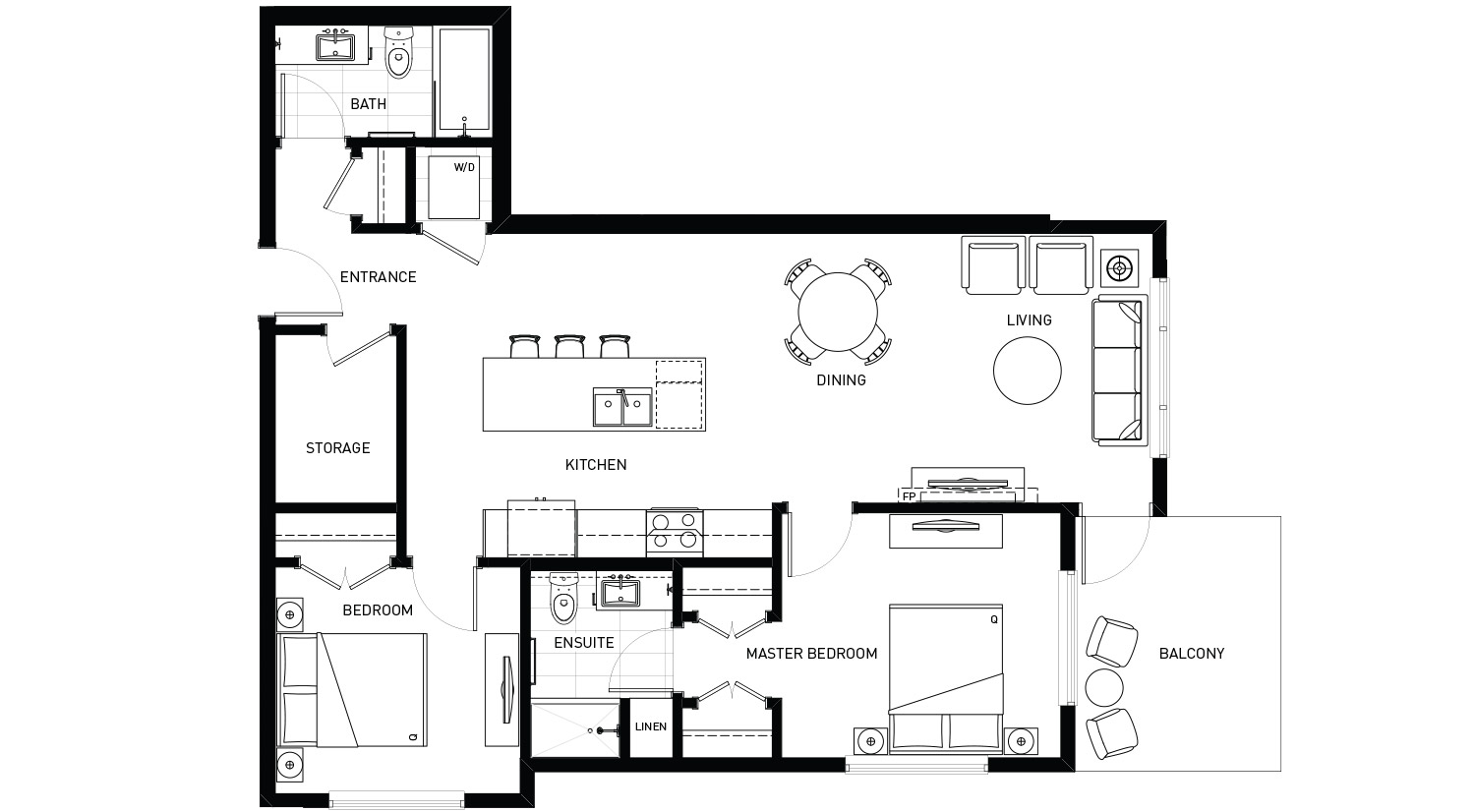 Plan A Floorplan